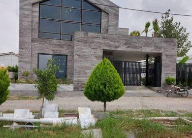 خرید ویلا نما مدرن 300متری استخر دار در منطقه جنگلی | 300 متر