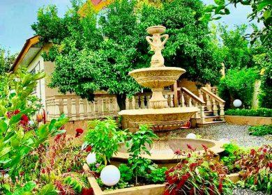 ویلا باغ 350 متری استخر دار مبله جاده دریا   350 متر