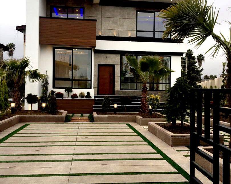 ویلا مدرن استخر دار در منطقه رویان | 440 متر