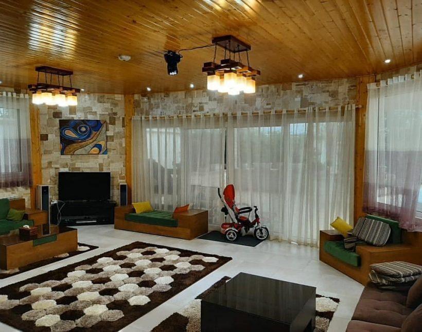 ویلا 4 خوابه استخر دار چمستان | 1500 متر
