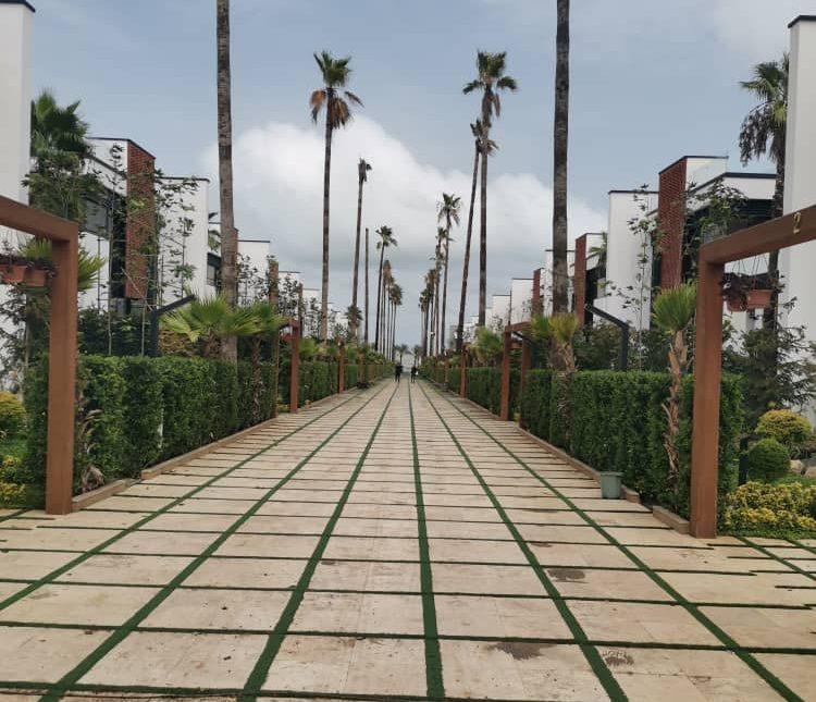 ویلا نما مدرن در شهرک ساحلی   400 متر