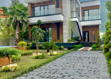 ویلا مدرن استخر دار شهرکی در نوشهر | 480 متر